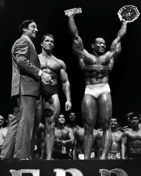 Sergio Oliva is the only bodybuilder to ever beat Arnold Schwarzenegger at the Mr. Olympia