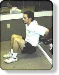 Bench Dips For Triceps - Easiest Position