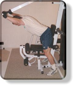 Seated Bench Press Machine Shoulder Presses - Finish