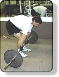 Error: Deadlifts - Hunched-over position