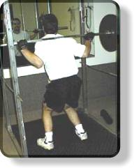 Barbell Squats - knees bowing in