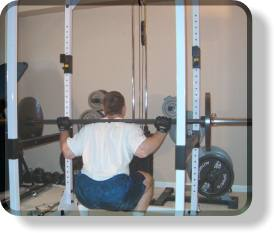 Barbell Squats - Bottom