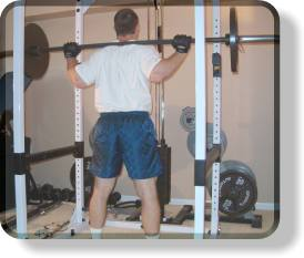 Barbell Squats - Top
