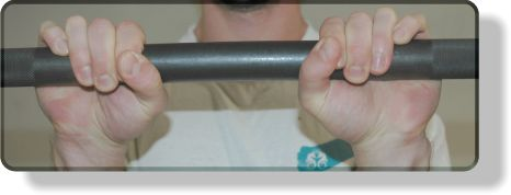 Grip Shifting Drop Sets For Reverse Barbell Curls: