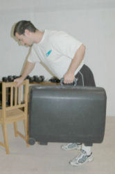 One Arm Suitcase Rows