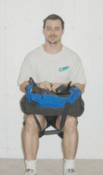 Wall Sit and Wall Sit With Bag