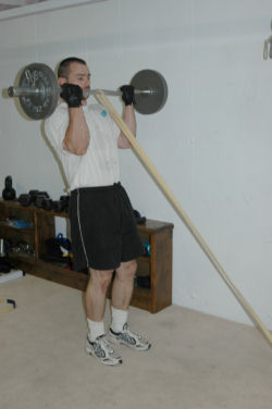 Band-Barbell Curls