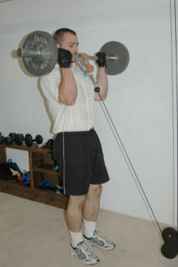 Cable-Barbell Curls