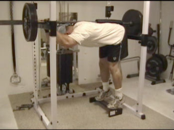 Barbell Donkey Calf Raises
