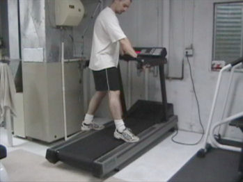 Sideways Treadmill Walking