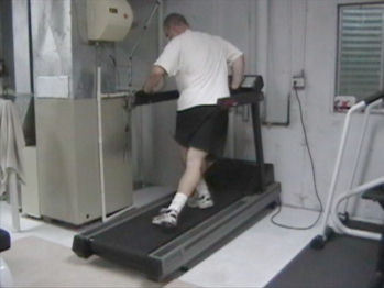 Sideways Treadmill Walking for Wider Hips