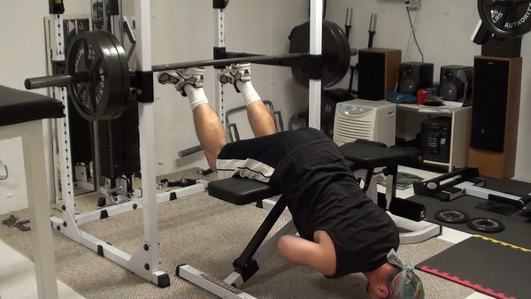 back extensions without machine