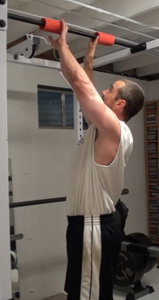 Chin-Ups With Fat Gripz