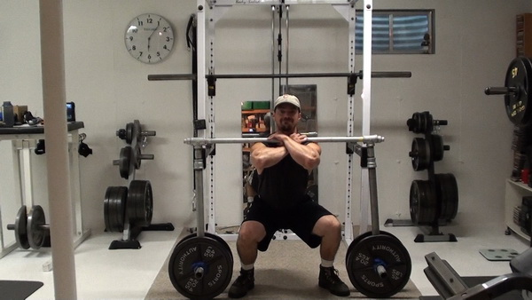Diy barbell rack this bar is also very effective for