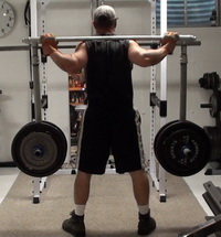 Fitness and training equipment reviews and articles for Homemade safety squat bar
