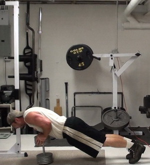 On-Dumbbell Push-Ups