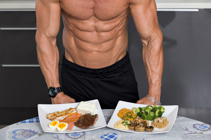 How to Gain Muscle Eating Three Meals a Day