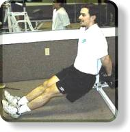 Bench Dips For Triceps - Second Position