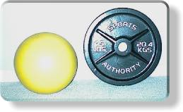 Abdominal Crunch on Small Ball  - Ball Size Scale