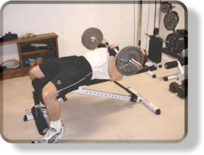In-Set Superset For Triceps