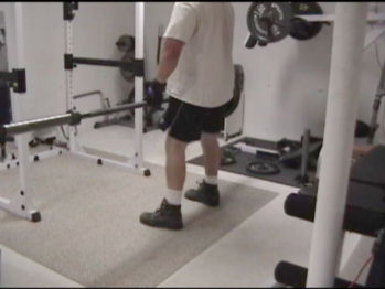 One-Sided Barbell Deadlifts For Lower Body and Core Strength